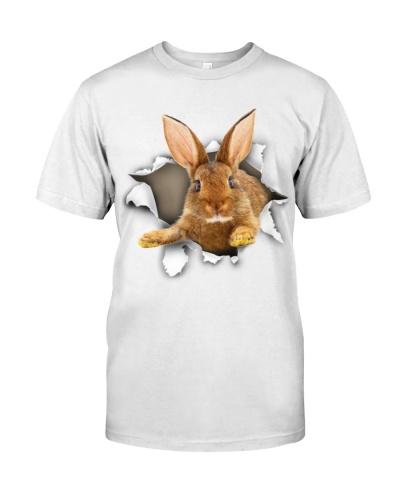 Rabbit - Torn Paper