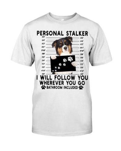 Australian Shepherd Funny Personal Stalker