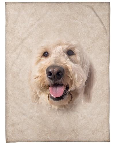 Goldendoodle Face 3D