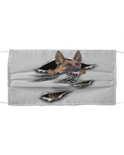 Belgian Malinois-Scratch-FM Cloth face mask front