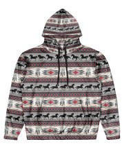 Indian Men's All Over Print Hoodie front