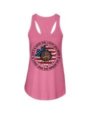 AMERICA-GOOD GIRL Ladies Flowy Tank thumbnail