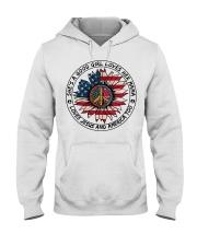 AMERICA-GOOD GIRL Hooded Sweatshirt front