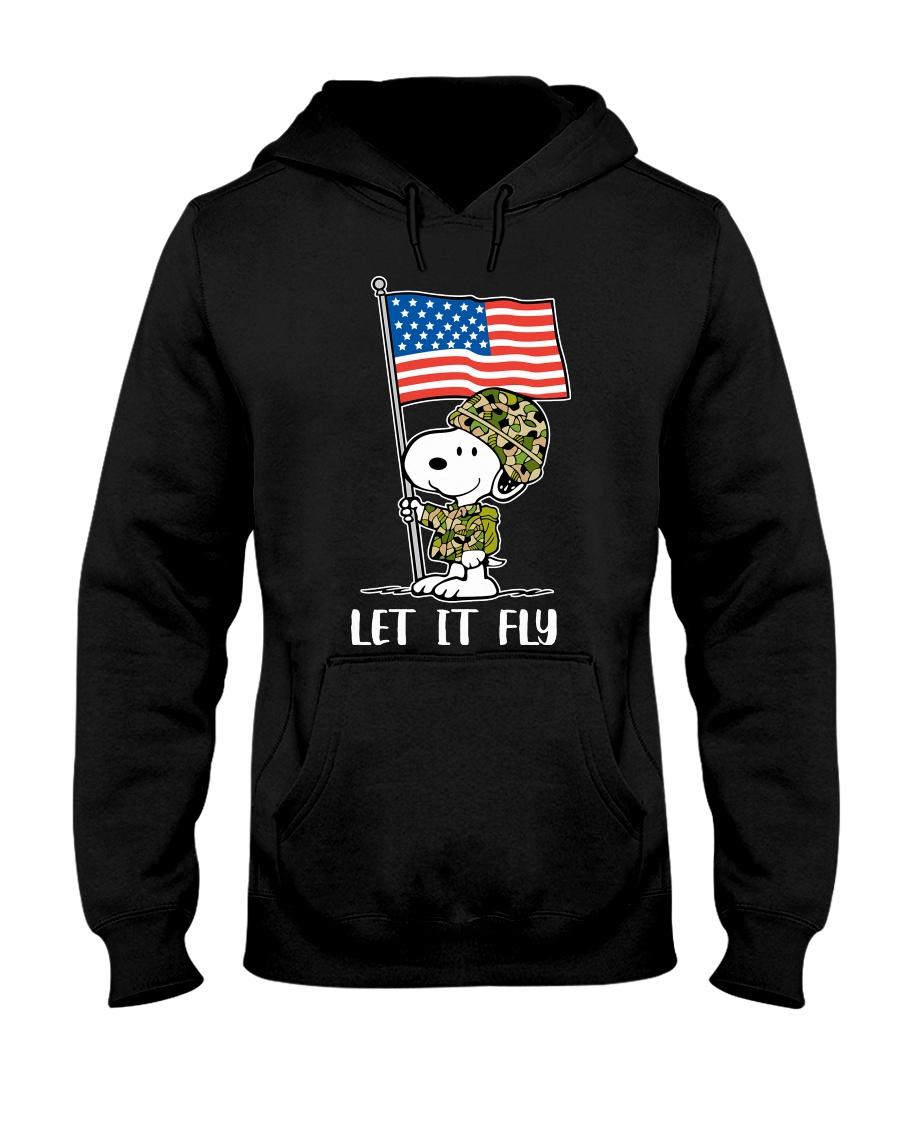 LET IT FLY-SP Hooded Sweatshirt