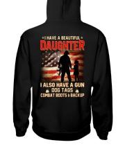 BEAUTIFUL DAUGHTER- Hooded Sweatshirt back