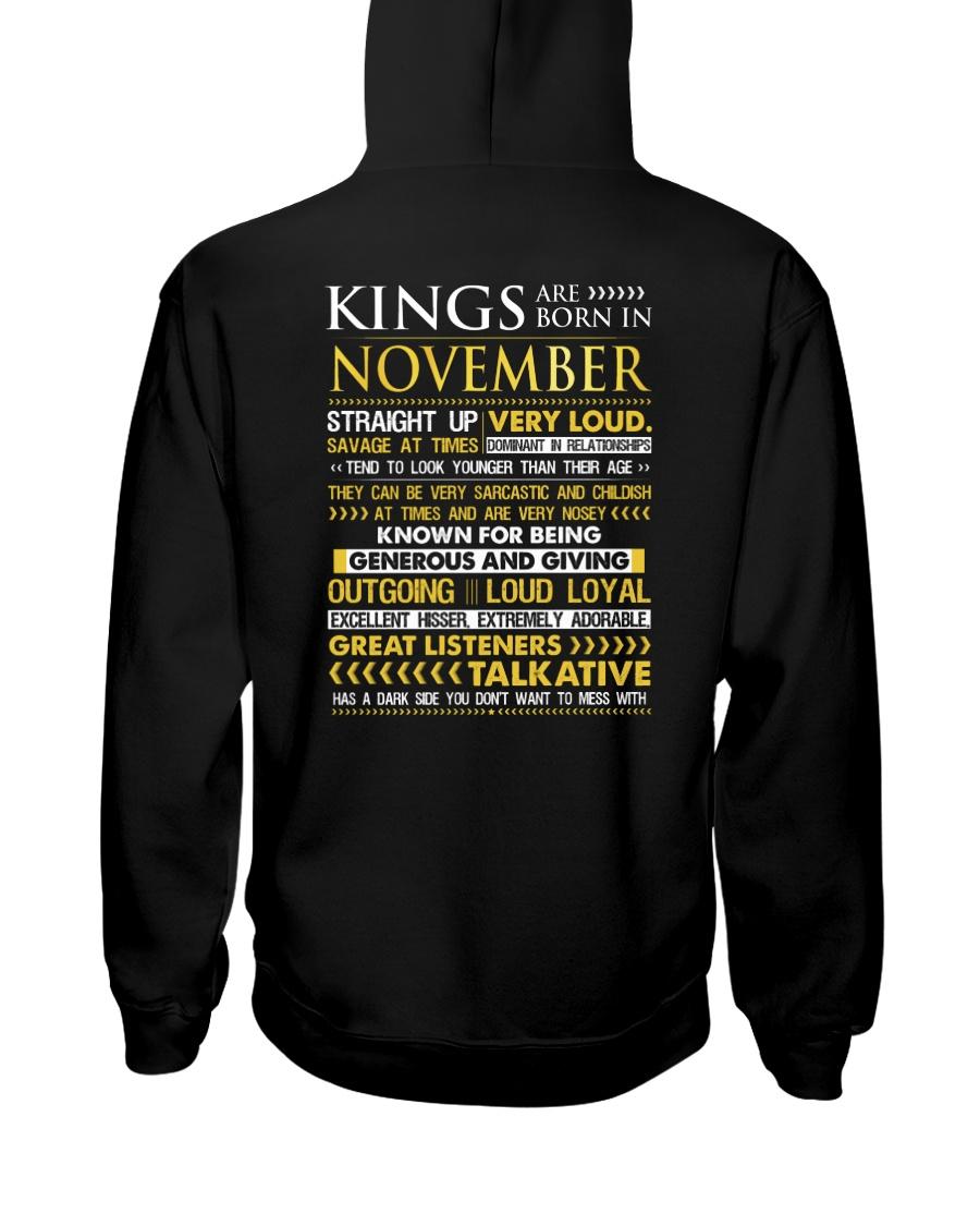 US-ROYAL-BORN-KING-11 Hooded Sweatshirt