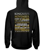 US-ROYAL-BORN-KING-11 Hooded Sweatshirt back