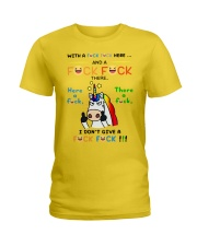WITH A FLUCK Ladies T-Shirt thumbnail