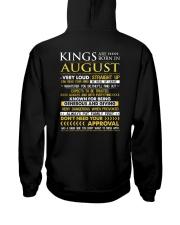 TTRUE-KING-8 Hooded Sweatshirt back