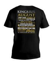 TTRUE-KING-8 V-Neck T-Shirt thumbnail