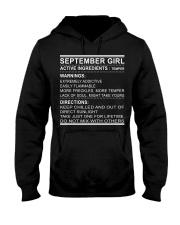 GIRL ACTIVE-9 Hooded Sweatshirt front
