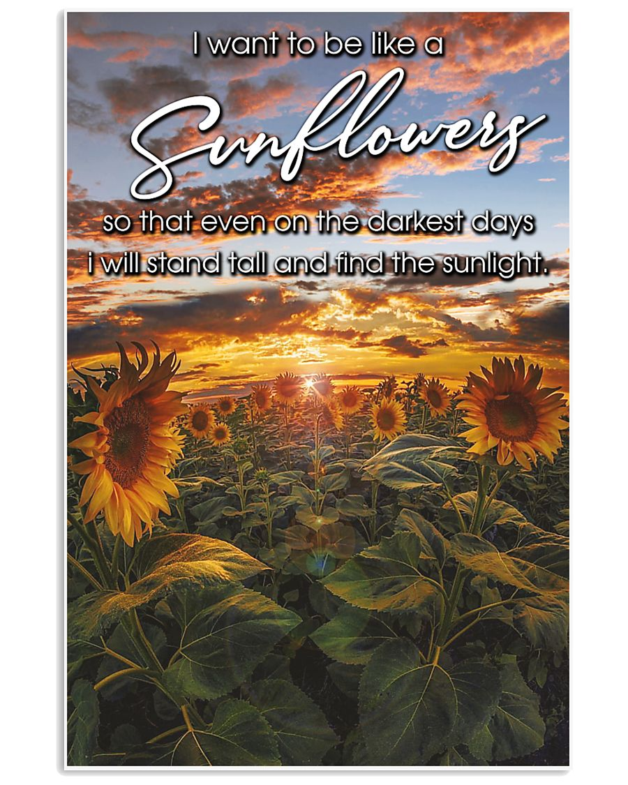 i want sun flower-GOOD GIRL 24x36 Poster
