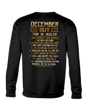US-GUY RULES-12 Crewneck Sweatshirt thumbnail
