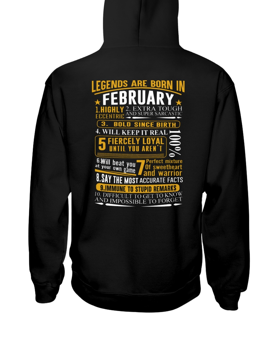 LEGENDS BORN-GUY-2 Hooded Sweatshirt