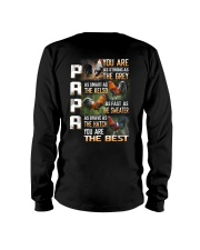 SALE-PAPA YOU ARE Long Sleeve Tee tile
