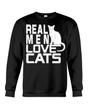 REAL MEN LOVE CATS Crewneck Sweatshirt thumbnail