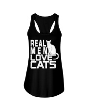 REAL MEN LOVE CATS Ladies Flowy Tank thumbnail