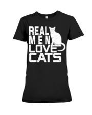 REAL MEN LOVE CATS Premium Fit Ladies Tee thumbnail