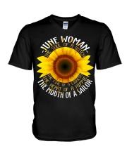 sunshine girl-6 V-Neck T-Shirt thumbnail