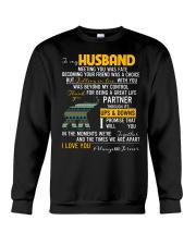 MY HUSBAND-ELEPHANT Crewneck Sweatshirt thumbnail