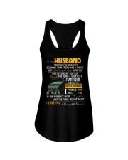 MY HUSBAND-ELEPHANT Ladies Flowy Tank thumbnail