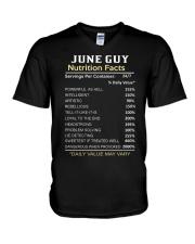 FR-GUY FACT-6 V-Neck T-Shirt thumbnail