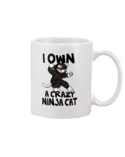 CRAZY NINJA CAT Mug thumbnail