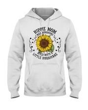 HIPPIE MOM Hooded Sweatshirt front