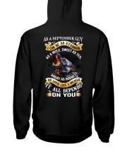 GUY-BORN-AS-9 Hooded Sweatshirt thumbnail