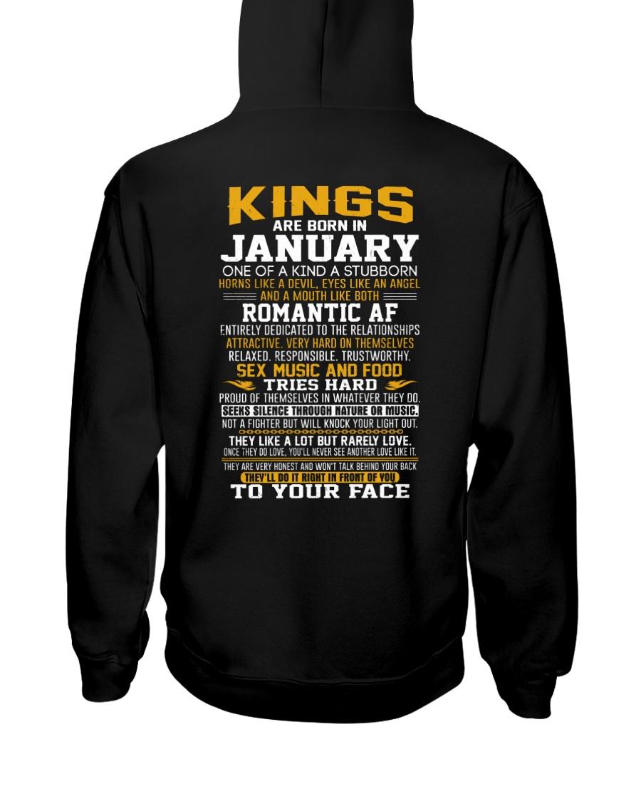 US-KING BORN-1 Hooded Sweatshirt