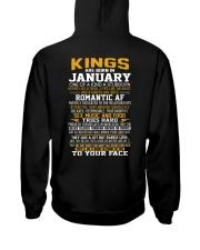 US-KING BORN-1 Hooded Sweatshirt back