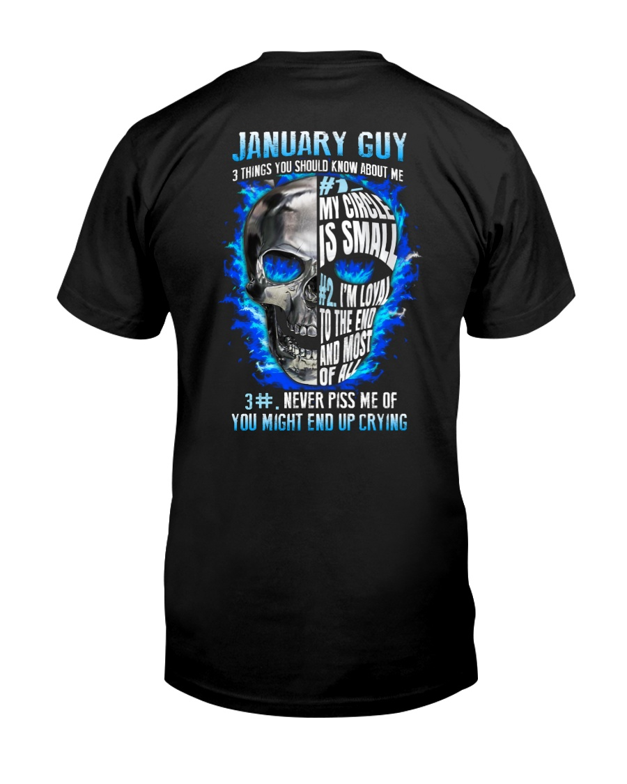 3THINGS-GUY-1 Classic T-Shirt