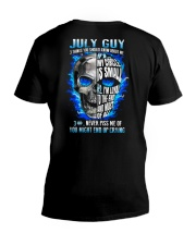 3THINGS-GUY-7 V-Neck T-Shirt thumbnail