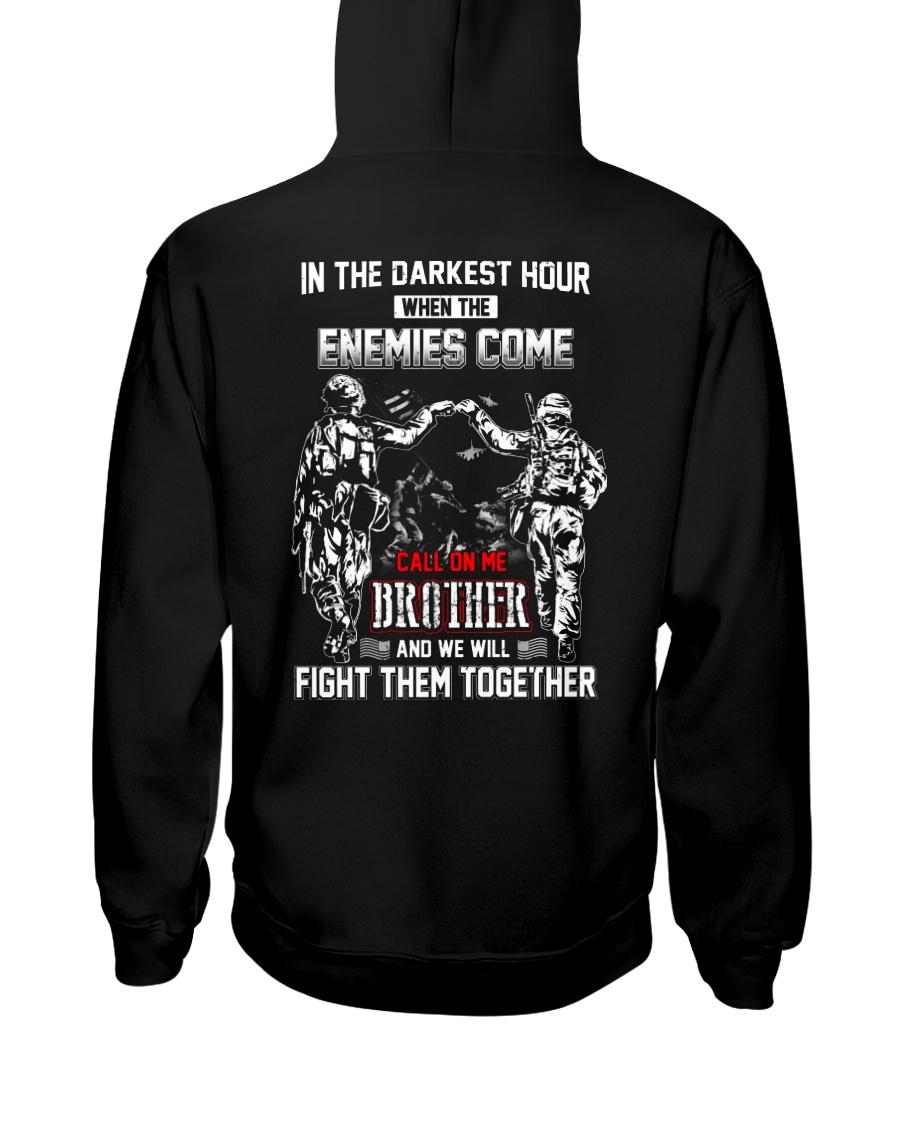 CALL ON ME BROTHER Hooded Sweatshirt