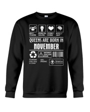 Queens fact-11 Crewneck Sweatshirt thumbnail