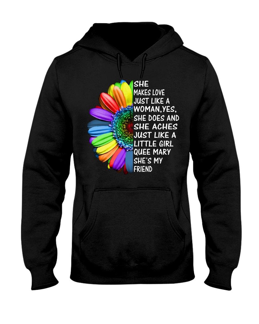 SHEMAKELOVE Hooded Sweatshirt