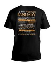 QUEEN-JANNUARY V-Neck T-Shirt thumbnail