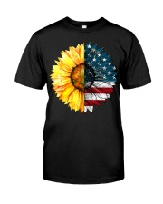 FLAG-SUN FLOWER Classic T-Shirt thumbnail