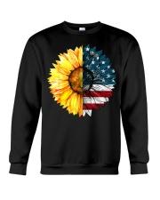 FLAG-SUN FLOWER Crewneck Sweatshirt thumbnail