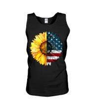 FLAG-SUN FLOWER Unisex Tank thumbnail