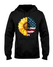 FLAG-SUN FLOWER Hooded Sweatshirt front