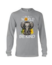 IN A WORLD BE KIND- ELEPHANT Long Sleeve Tee thumbnail