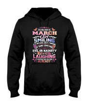 MONTH GIRL-3 Hooded Sweatshirt front