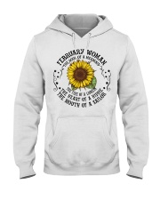 HIPPIE-WOMAN-2 Hooded Sweatshirt front
