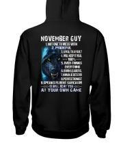 THINGS GUY-11 Hooded Sweatshirt back