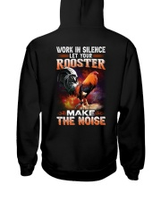 ROOSTER-WORKHARD Hooded Sweatshirt back