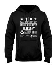 Queens fact-2 Hooded Sweatshirt front