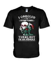 ASHOLE-GOOGLED V-Neck T-Shirt thumbnail