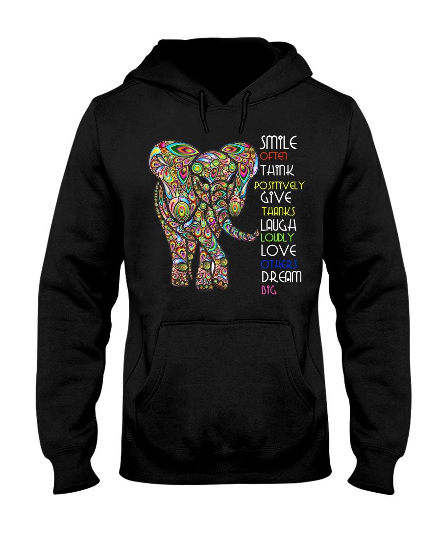 SMILE OFTEN-ELEPHANT Hooded Sweatshirt