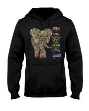 SMILE OFTEN-ELEPHANT Hooded Sweatshirt front